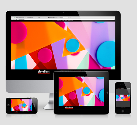 Elevations Responsive Website