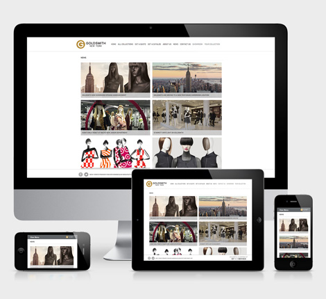 Goldsmith Responsive Website