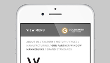 Goldsmith Mobile Website