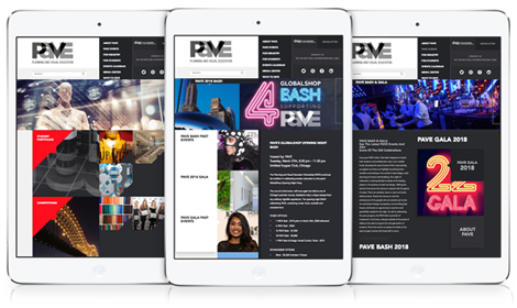 PAVE Responsive Website