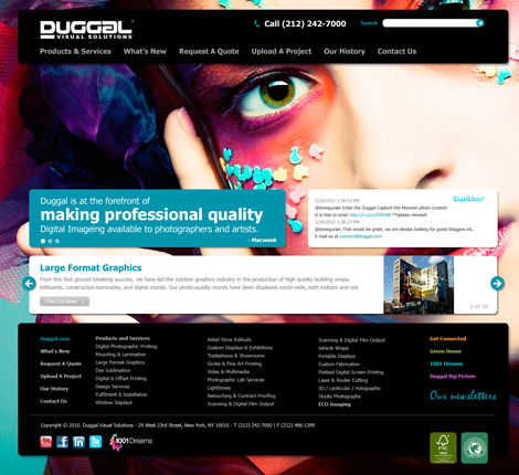 Duggal Website Design