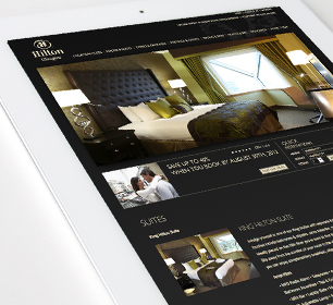 Hilton Glasgow Website Design & Build