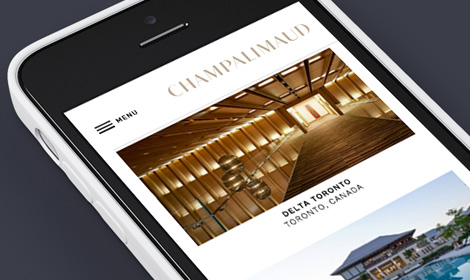 Champalimaud Mobile Website Build