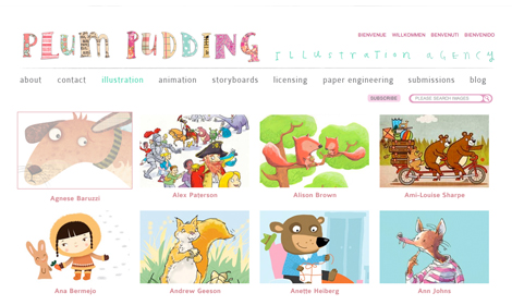 Plum Pudding Illustration