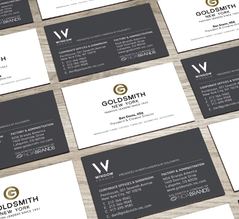 Goldsmith Business Cards